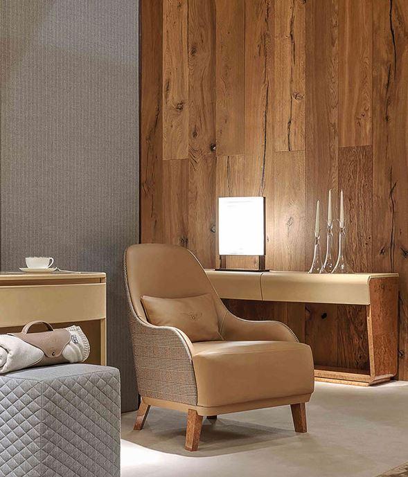 Fotel sypialniany Bentley