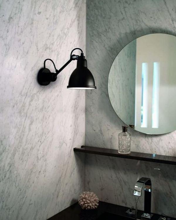 Industrialna lampa łazienkowa DCW Editions
