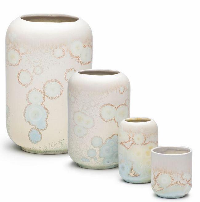 Kolekcja wazonów ceramicznych R L Foote Design