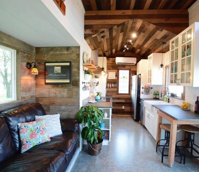 Małe wnętrze – Hill Country Tiny Houses