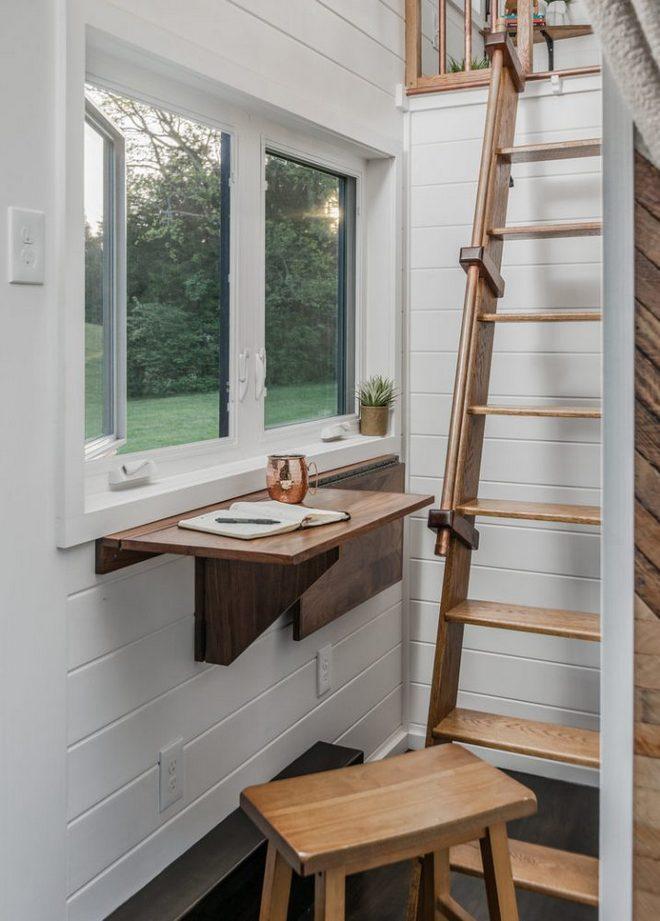 Maksymalne wykorzystanie przestrzeni New Fontier Tiny House