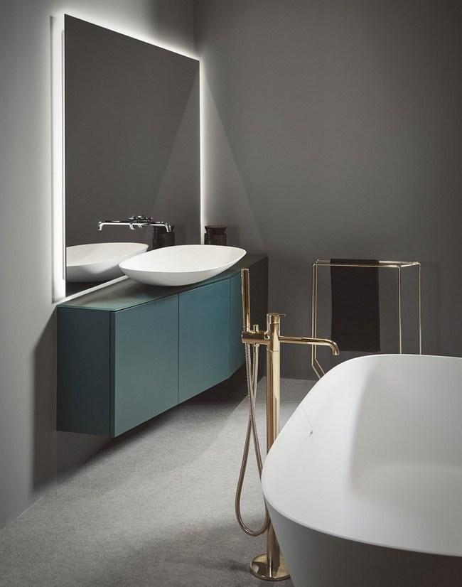 Minimalistyczna łazienka Inbani