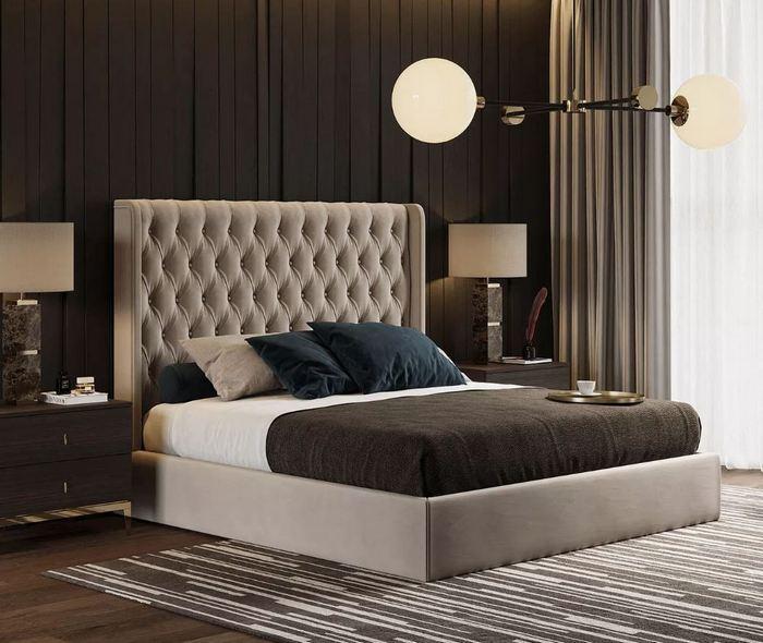 Nowoczesna sypialnia w ekskluzywnym wydaniu / Laskasas