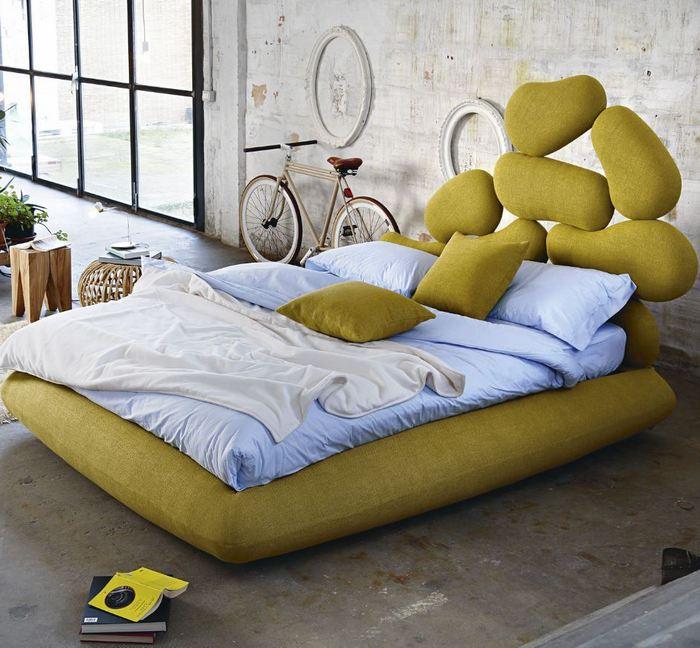Nowoczesna sypialnia z designerskim łóżkiem Noctis