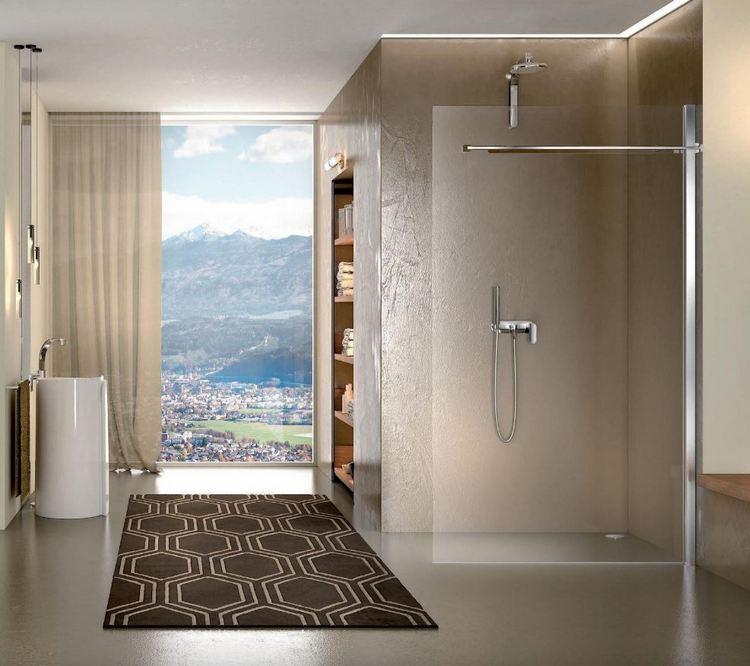 Minimalistyczna kabina prysznicowa Duka
