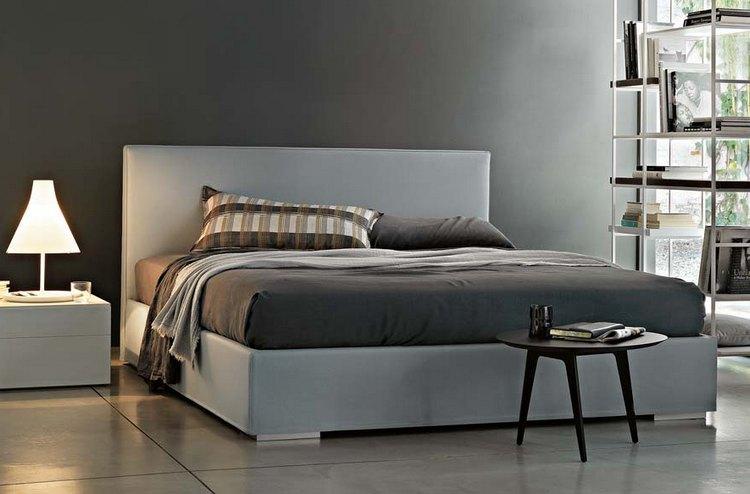 Minimalistyczna sypialnia Lema Mobili