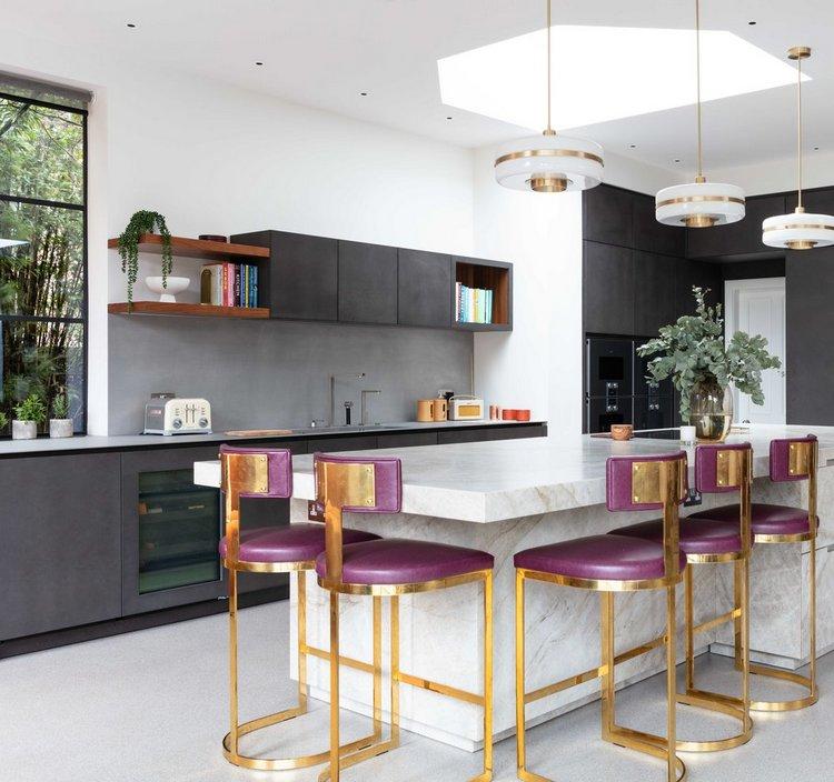Kuchnia autorstwa Shanade McAllister-Fisher Interior Design Studio