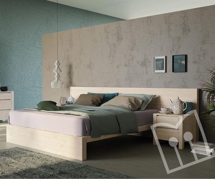 Drewniana sypialnia Unikawood