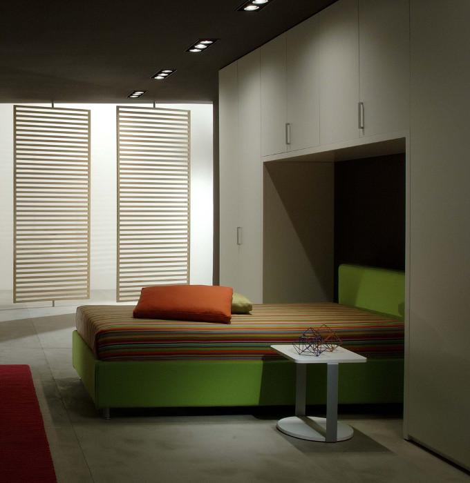 Zabudowane łóżko Lema Mobili