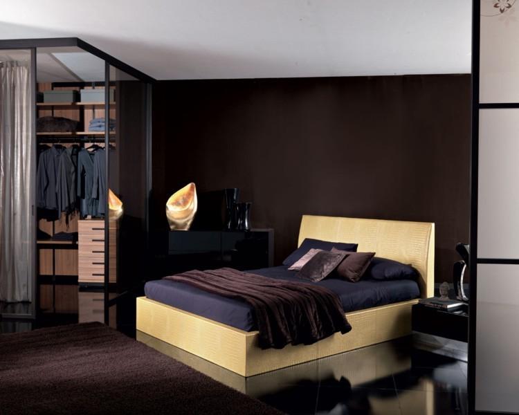 Tapicerowane łóżko Unico Italia