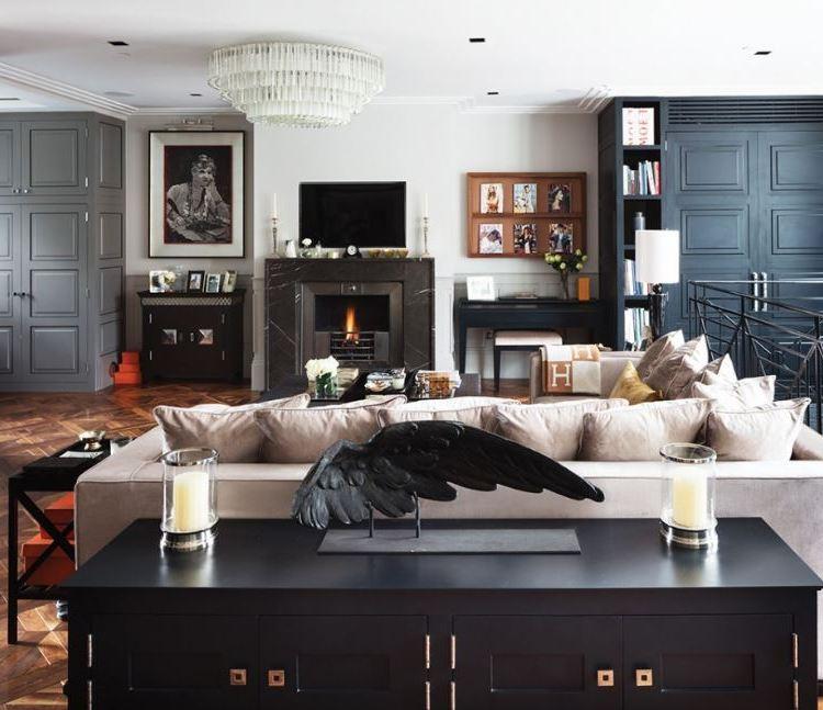Salon w aranżacji Cochrane Design / Boca de Lobo
