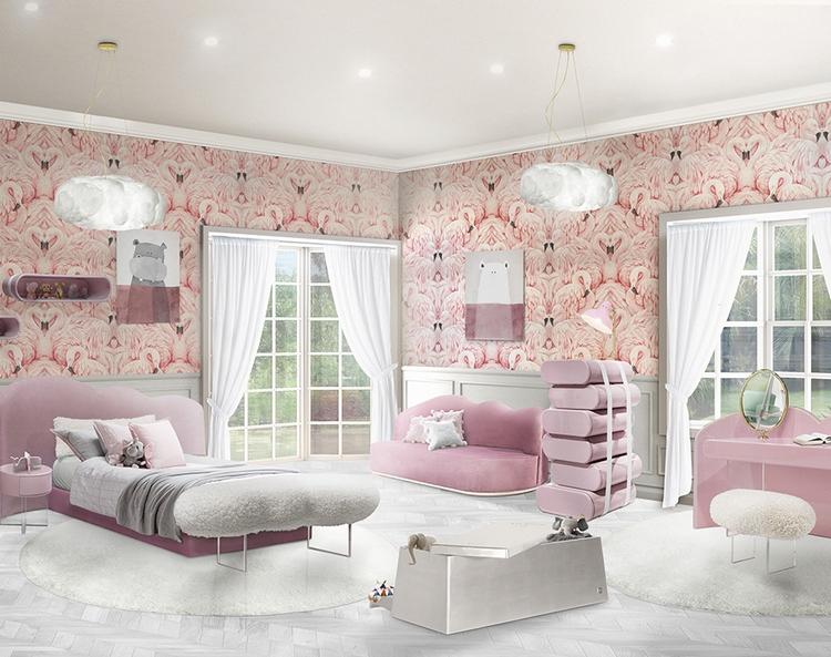 Różowy pokój dziecięcy Circu