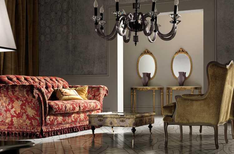 Luksusowe meble salonowe Epoque Salotti
