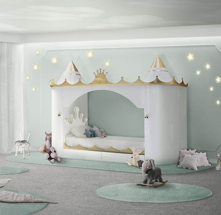 Sypialnia dla dziewczynki Circu