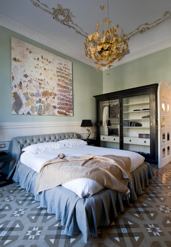 Sypialnia w aranżacji Koket