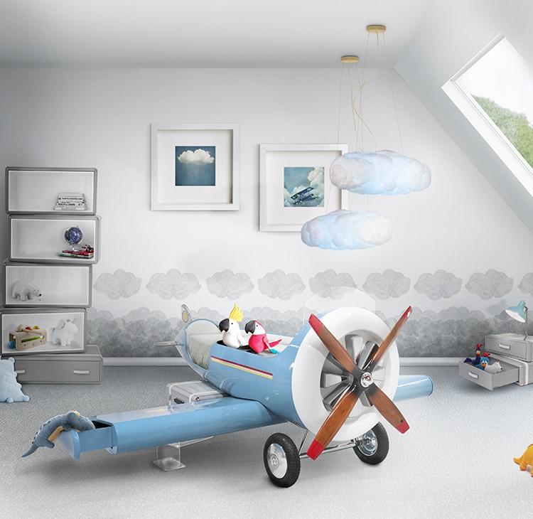 Pokój dziecięcy z motywem samolotu Circu