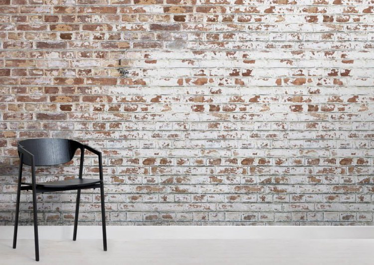 Tapeta imitująca cegły MuralsWallpaper