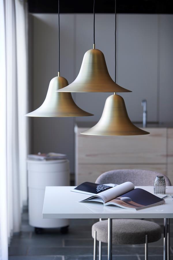 Metalowe lampy wiszące Verpan