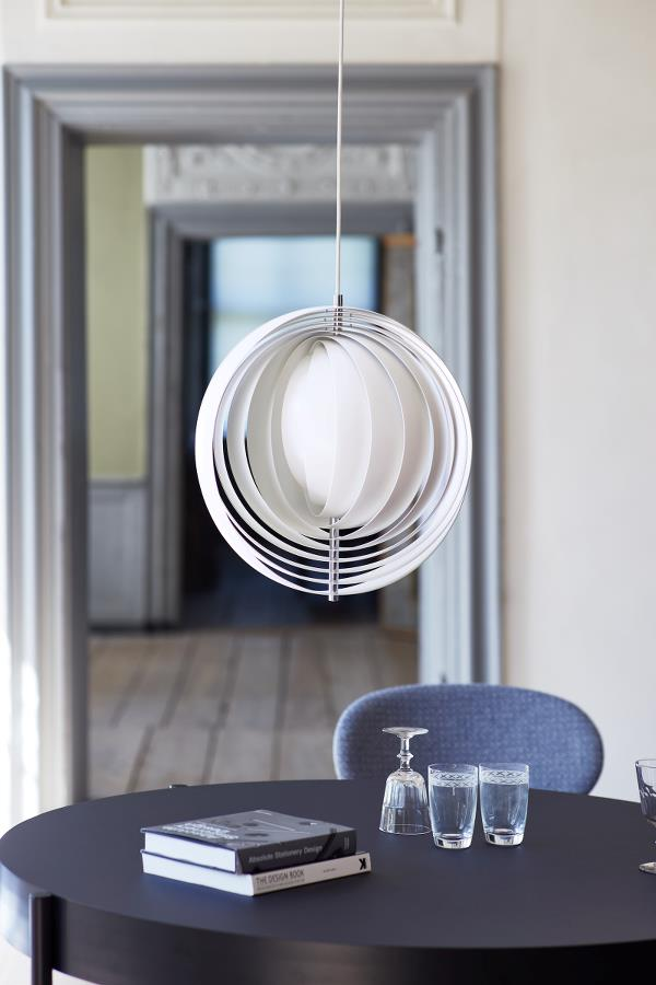 Sferyczna metalowa lampa Verpan