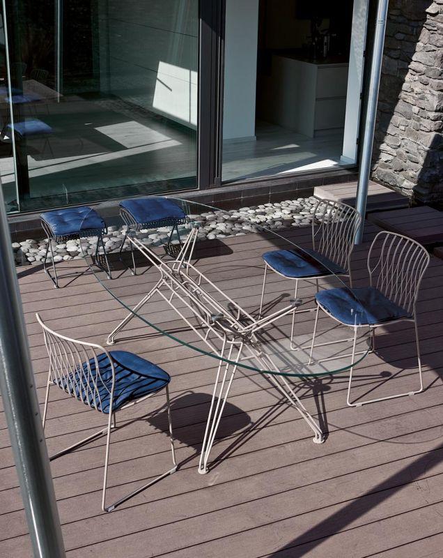 Krzesła i stołki z tapicerką Bontempi Casa