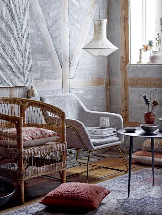 Salon w stylu skandynawskim Bloomingville