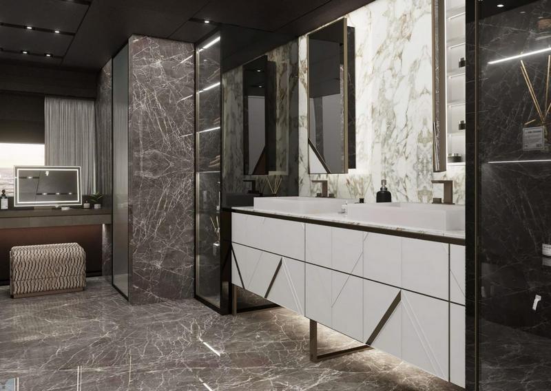 Ekskluzywne wnętrza - Luksusowa łazienka Visionnaire/Baglietto