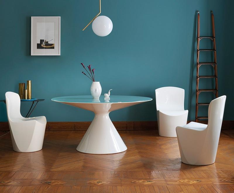 Stół jadalny z tworzywa sztucznego Slide Design