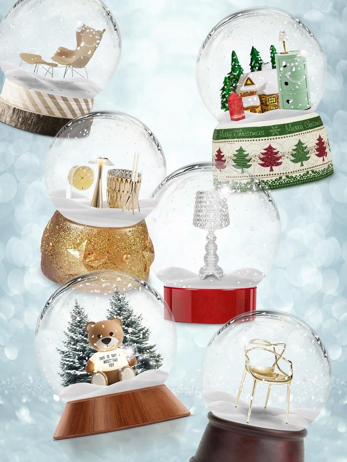 Kule bożonarodzeniowe Kartell