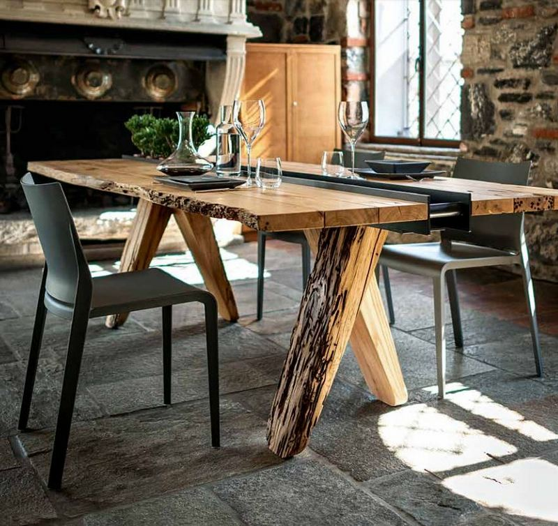 Rustykalny drewniany stół Riva 1920