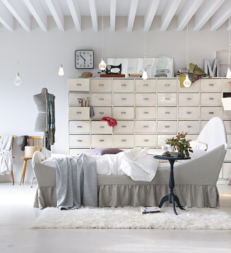 Romantyczne łóżko Noctis