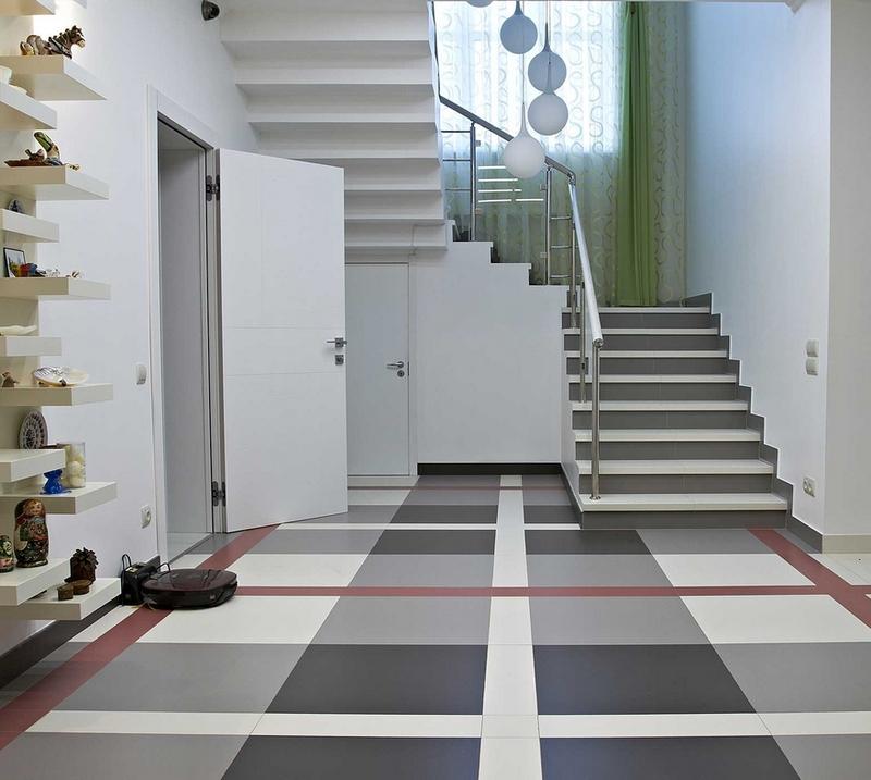 Podłoga w kratkę, czyli kolorowe płytki podłogowe Casalgrande Padana