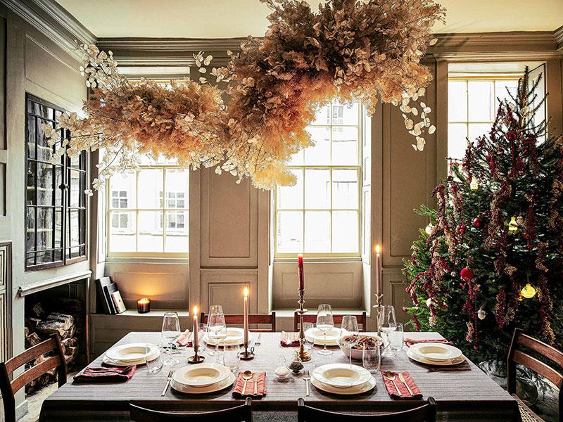 Aranżacja świąteczna Zara Home