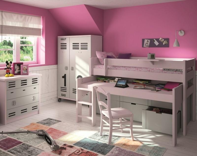 Praktyczne zagospodarowanie przestrzeni pokoju dziecięcego Mathy by Bols