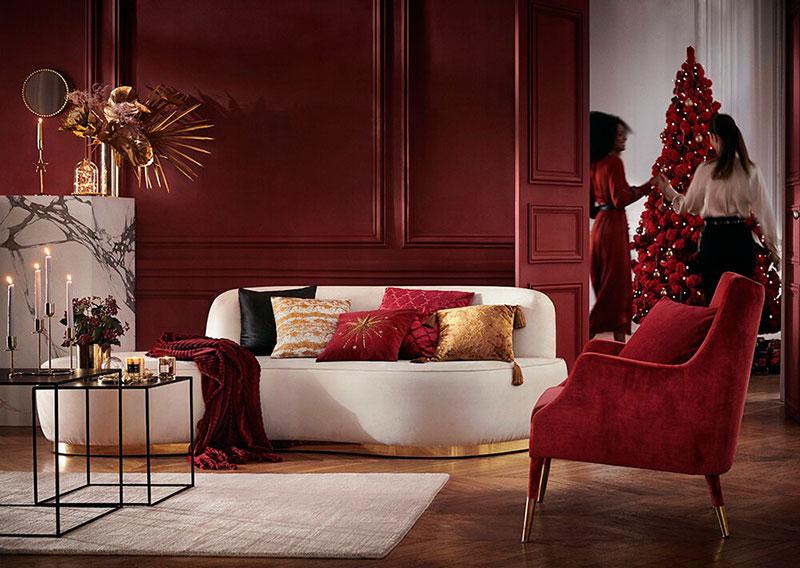 Świąteczna aranżacja H&M