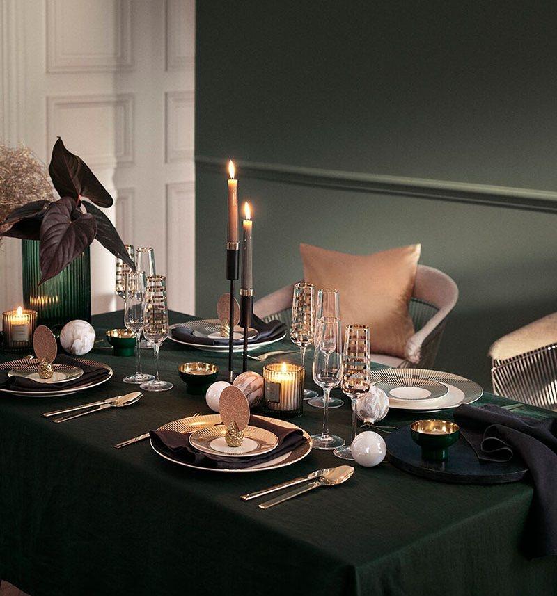 Stół wigilijny według H&M
