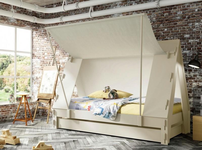 Łóżko w formie namiotu Mathy by Bols