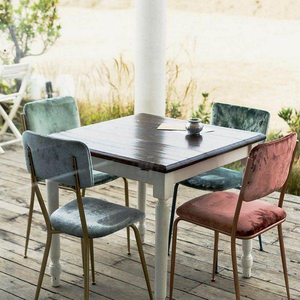 Luksusowe krzesła w stylu Vintage Lalabonbon