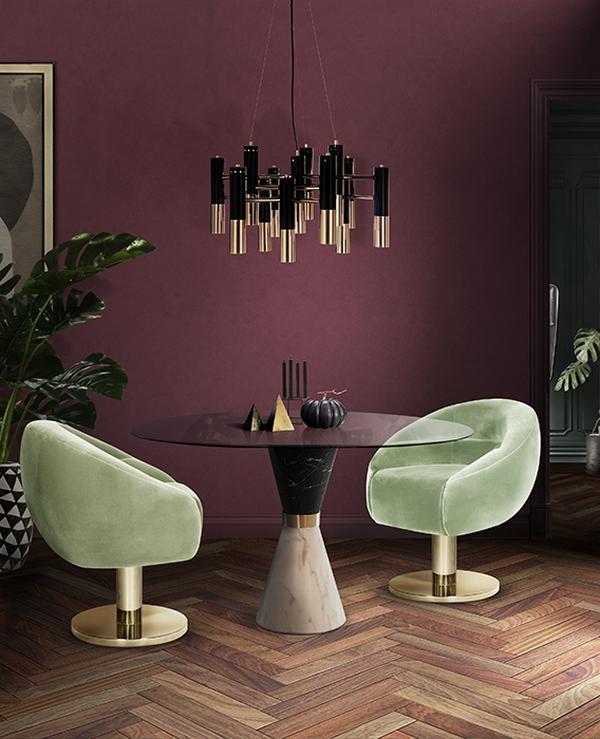 Obrotowe retro krzesła ESSENTIAL HOME