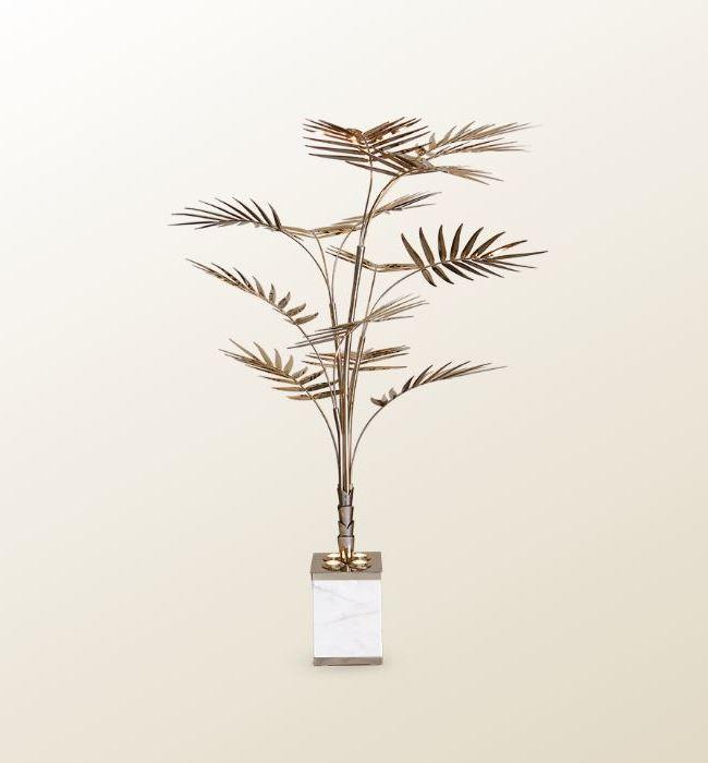 Lampa podłogowa w kształcie palmy Ivete ESSENTIAL HOME