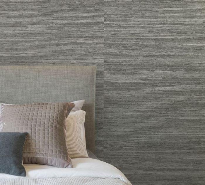 Spokojna zamszowa tapeta do sypialni; Muraspec
