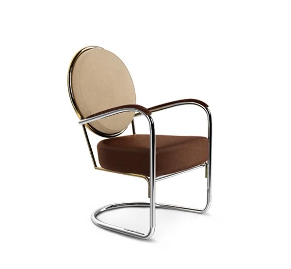 Tapicerowane krzesło HOMMES STUDIO