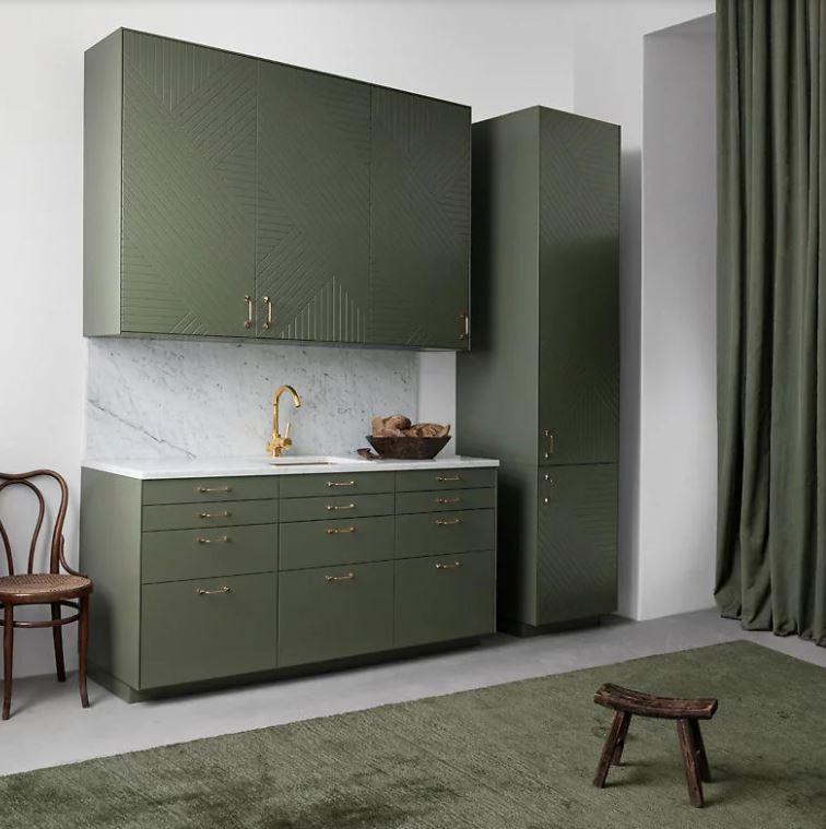 Zielona zabudowa kuchenna /Superfront