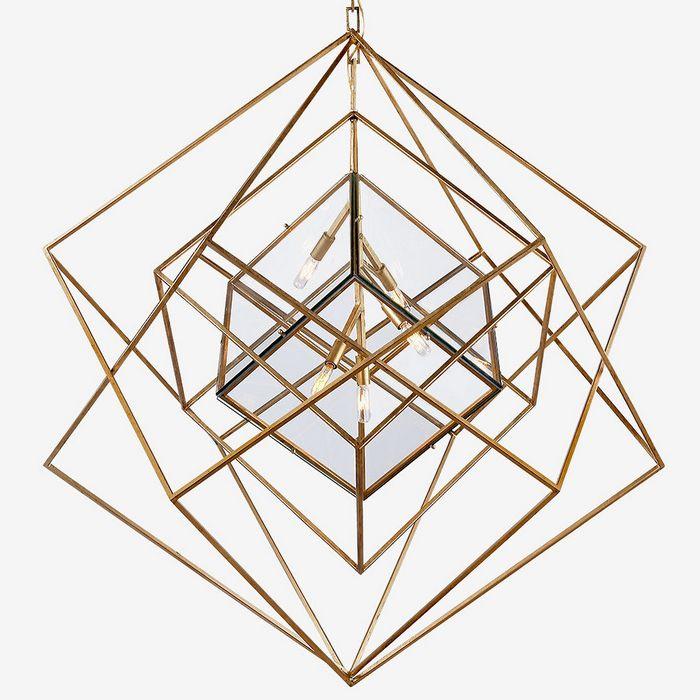 Kubistyczna lampa Kelly Wearstler