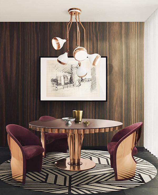 Luksusowe krzesła ze złotymi elementami ESSENTIAL HOME