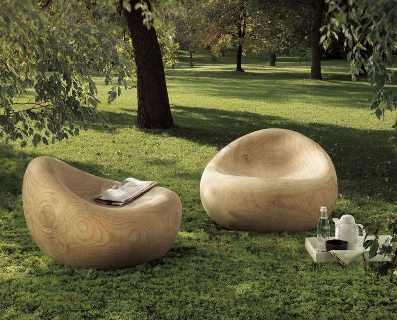 Fotel drewniany Riva1920