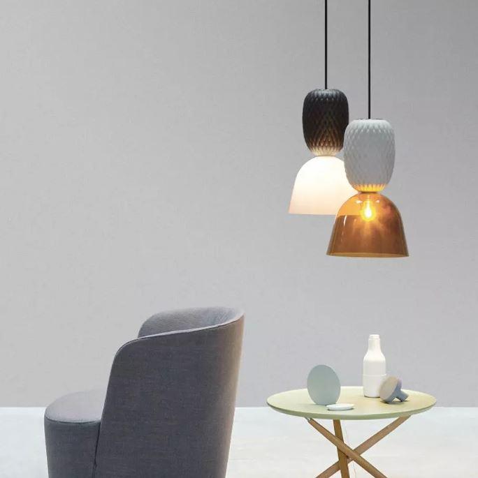 Lampy wiszące inspirowane ananasem MM Lampadari