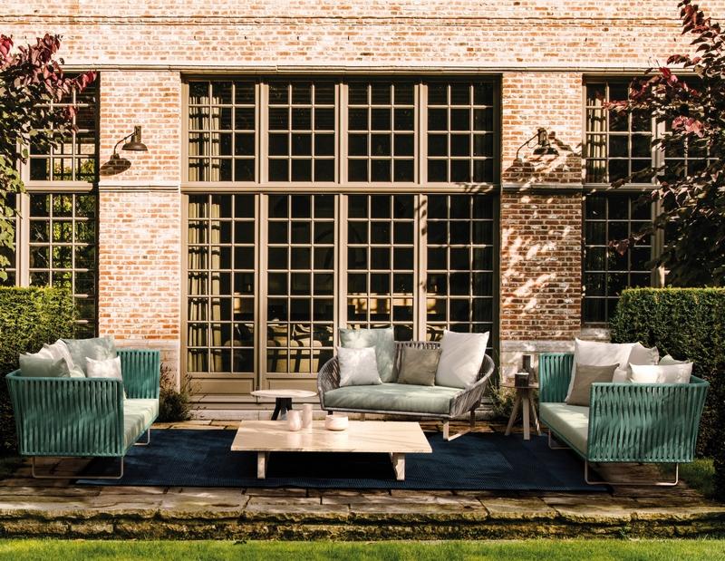 Designerskie zestawy mebli ogrodowych Kettal