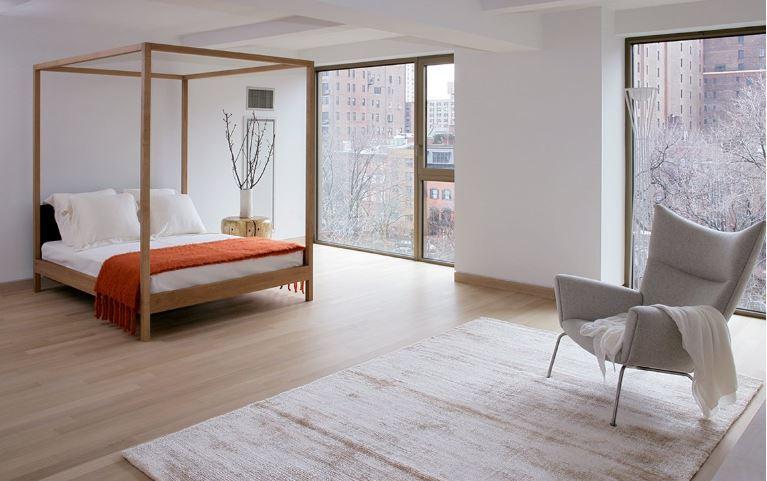 Minimalistyczny dywan do sypialni G.T. Design