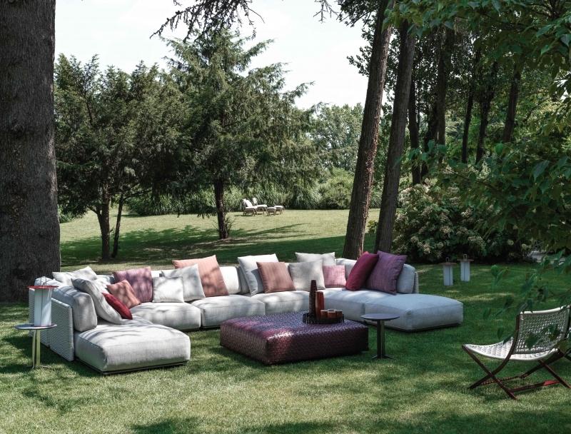 Modułowa kanapa ogrodowa Flexform