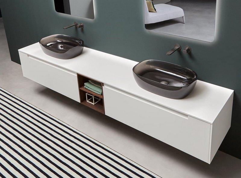 Eleganckie meble łazienkowe Antonio Lupi